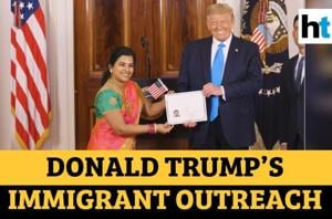 Watch: Indian software engineer becomes US citizen in ceremony hosted by...