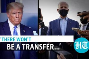 Trump refuses to commit to peaceful transfer of power if he loses to Bi...
