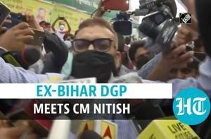 Bihar polls: 'Met CM Nitish Kumar, did not discuss politics', says ex-Bihar...