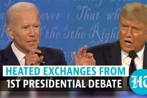 Trump Vs Biden Mash Up: Most heated exchanges from the 1st Presidential...