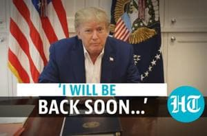 'Next couple of days the real test': Trump shares video amid Covid trea...