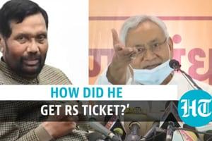 'Did Ram Vilas Paswan reach Rajya Sabha without JD(U)'s help?': Bihar CM...