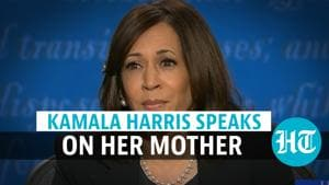 'Will make her proud': Kamala Harris speaks on her mother during US VP ...