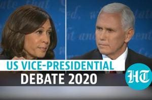 Mike Pence Vs Kamala Harris: Full vice-presidential debate | US Election...