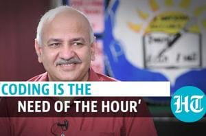 'We are taking coding education in schools to next level': Manish Sisod...