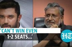 'Can't win even 1-2 seats…': Sushil Modi's jibe at LJP over seat-sharing