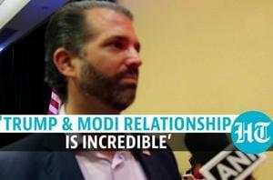 'Trump, Modi relationship will benefit both nations in future': Donald Trump...