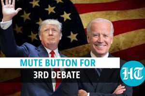 Third US Presidential debate to feature mute button; Trump camp lashes ...