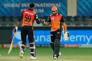 IPL 2020,RR vs SRH Highlights: Pandey, Shankar fifties guide SRH to victory