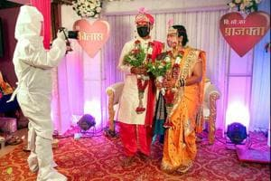 Photos: Indian weddings in the time of a pandemic
