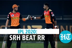 IPL 2020: Pandey, Shankar fifties guide SRH to 8-wicket win over RR