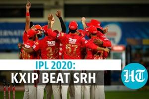 IPL 2020: Kings XI Punjab beat Sunrisers Hyderabad by 12 runs