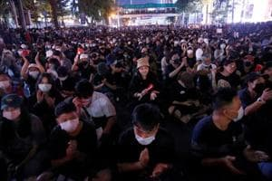Thailand's parliament meets to debate political protest tensions