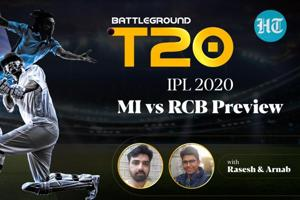 SRH vs DC Review and MI vs RCB Preview on Battleground T20