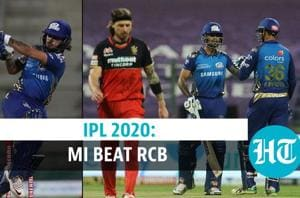 IPL 2020: Mumbai Indians beat Royal Challengers Bangalore by 5 wickets
