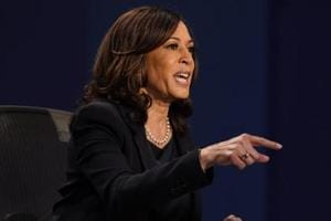 I am a proud and patriotic American, says Kamala Harris