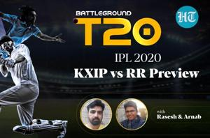 CSK vs KKR Review and KXIP vs RR Preview