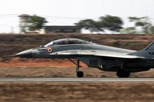 Navy's MiG-29K trainer jet crashes into Arabian Sea; 1 pilot rescued, search on for the other
