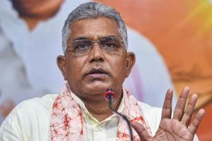 BJP has its doors open for Suvendu Adhikari: Dilip Ghosh
