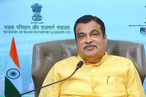 """Nitin Gadkari also said there was no need to give """"artificial push"""" to popularise electric vehicles (EVs) because they inherently had advantages to catch the imagination of the people as they were environment-friendly and significantly cost-efficient."""