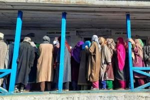 DDC polls: Over 40% voter turnout recorded till 1 pm