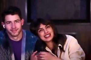 HTLS 2020: Priyanka Chopra and Nick Jonas during a live interaction.