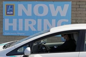 US jobless claims drop, offering ray of hope for labor market