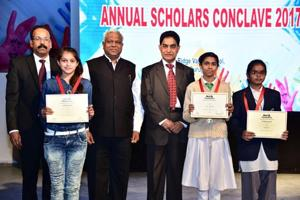 Gurgaon: Underprivileged students felicitated for academic performance...