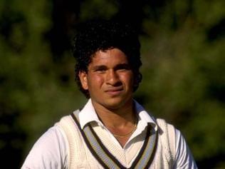 Many moods of a young Sachin Tendulkar