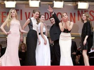 The Bling Ring stars arrive at Cannes