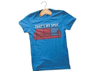 The sitcom swingers: let your T-shirt speak for you