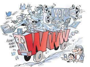 Will social media be a game-changer for 2014 Lok Sabha polls?