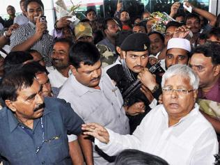 Now, Lalu favours open book system to control cheating!