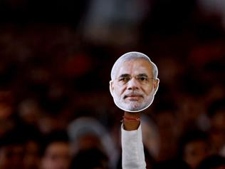 Man of the moment: Modi is speaking, India is listening