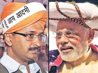 How face-off with BJP helps AAP make big gains