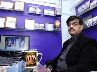 Amitabh Mehrotra from Lucknow overcomes his own limitations by helping others with disabilities