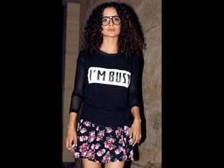 My parents need an appointment to meet me, says busy bee Kangana