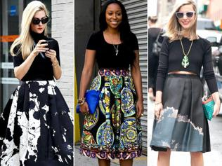 Re-invent your summer warbrobe with Dirndl skirt