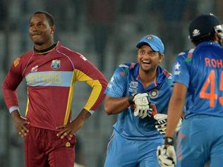 India almost in semis after crushing West Indies