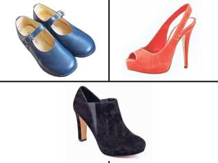 A visual decoding of all types of on-trend shoes
