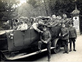 WW1 memorial in Thrissur
