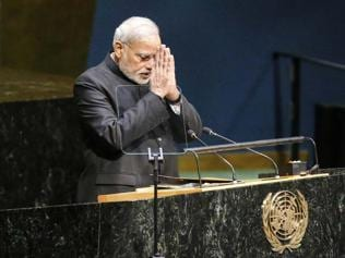 The PM must represent India, not just market it