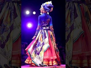 The final day of WIFW was all about old-world romance
