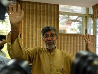 Kailash Satyarthi's crusade to save childhood continues; 60 mn still need him