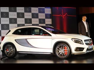 Merc eyes high-performance mkt, launches GLA45 AMG at Rs. 70 lakh