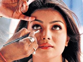 Meet make-up artists who clean up the image of Bollywood actors with a magic brush