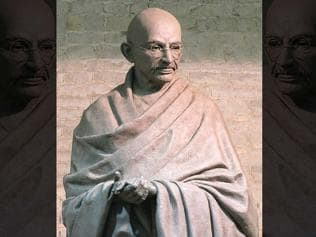 London: Gandhi statue garners donations from across the globe