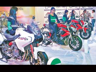 Two-wheeler cos smile as small towns warm up to big bikes