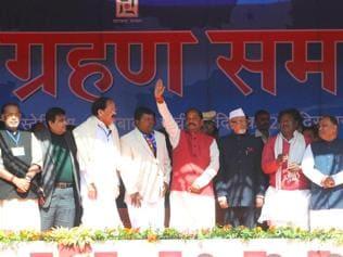 Jharkhand: Raghubar Das sworn in as 10th CM