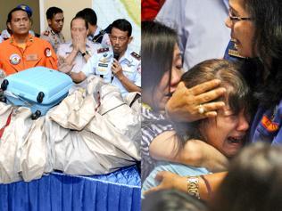 16 bodies found, search on for AirAsia crash site